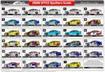 WTCC Spotters Guide - vector