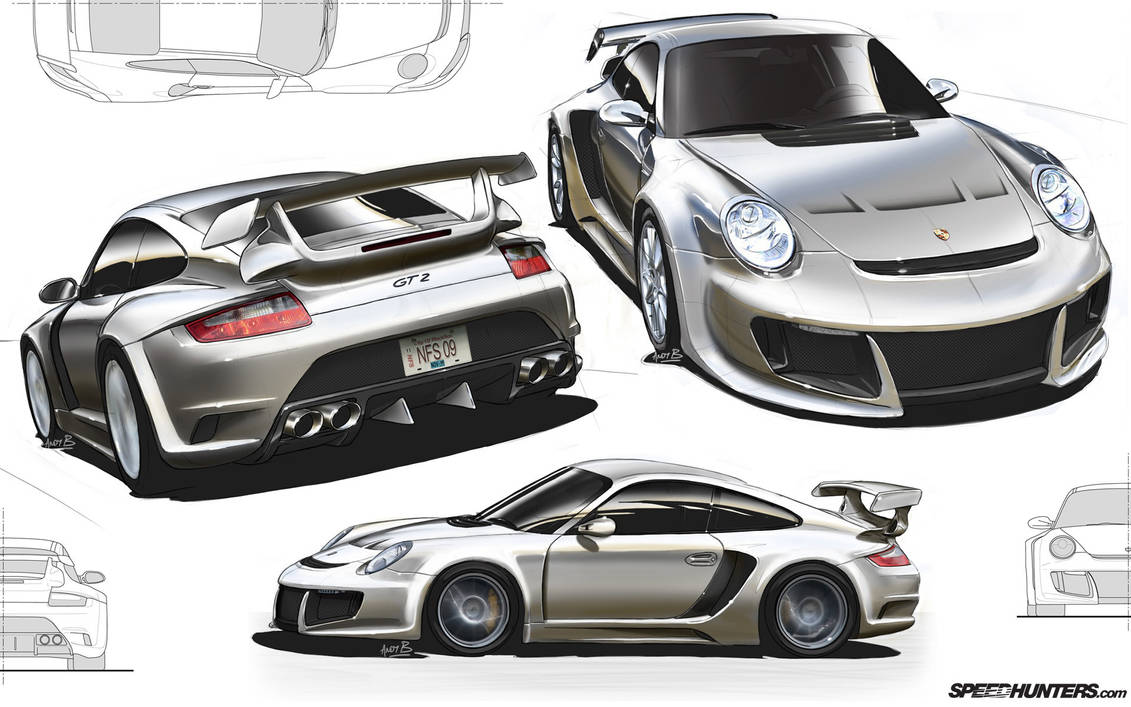 Porsche Bodykit Design