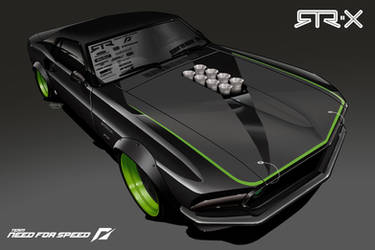 Mustang RTR-X Concept by andyblackmoredesign
