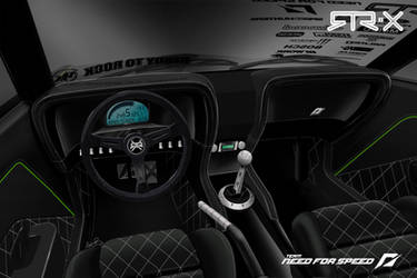 Mustang RTR-X Concept - Interior by andyblackmoredesign
