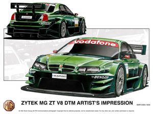 Previous Designs - MG DTM car