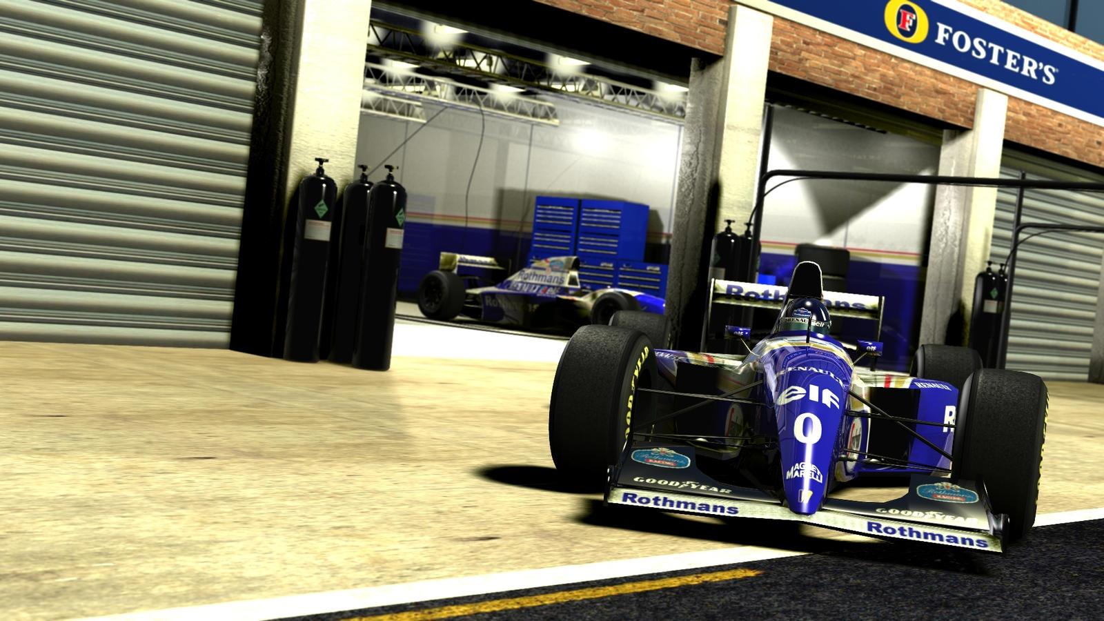 Williams F1 94 Damon Hill By Razor Rebus