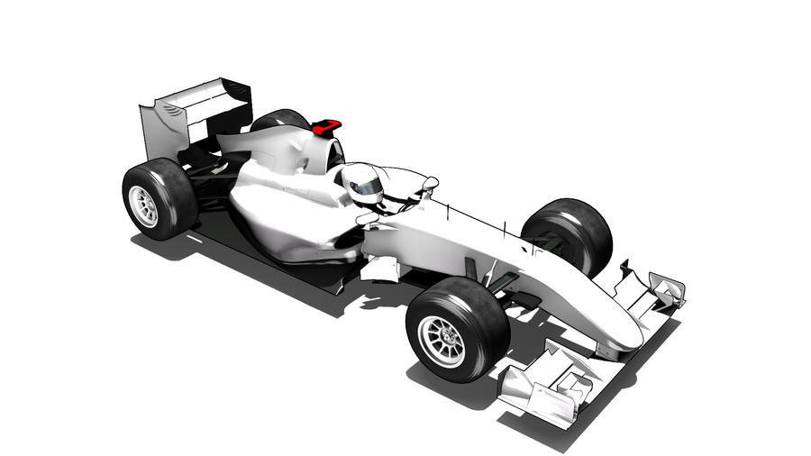 Formula One Car Template By Razor Rebus