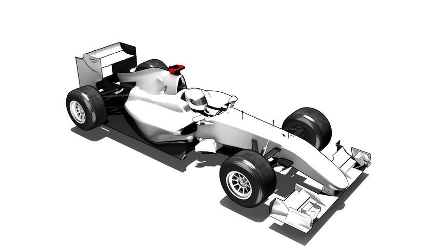 Formula one car template by razor-rebus on DeviantArt