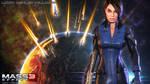 Mass Effect Wallpaper - Ashley Williams