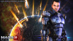 Mass Effect Wallpaper - Kaidan Alenko