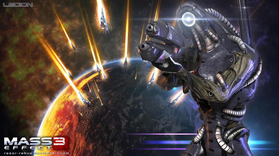 Mass Effect Wallpaper - Legion by razor-rebus