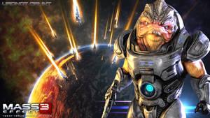 Mass Effect Wallpaper - Urdnot Grunt