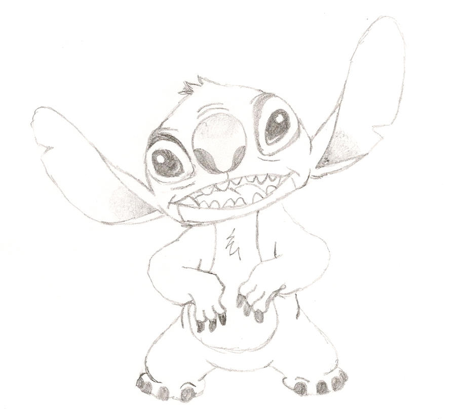 Drawings of Lilo And Stitch Stitch From 39 Lilo And Stitch 39
