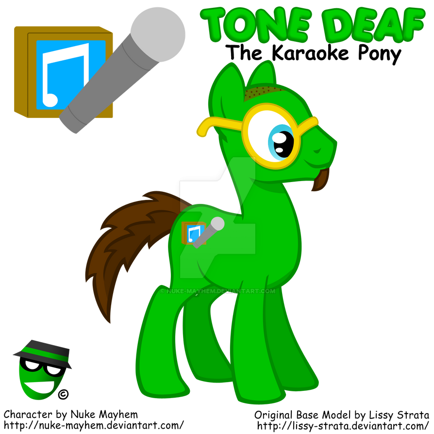 Tone Deaf (Made Out of Lissy's Base Model)
