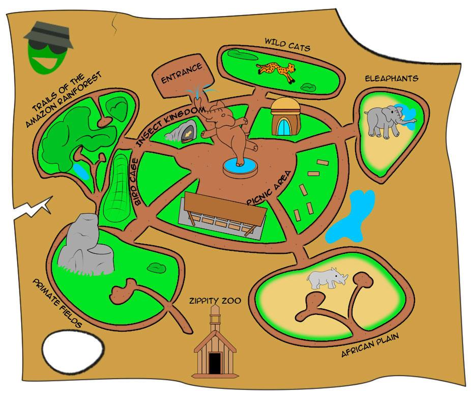 zoo map by nuke mayhem on deviantart