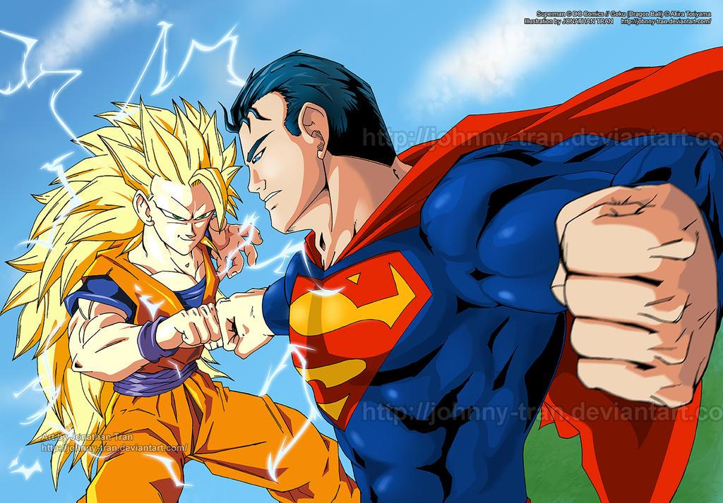 goku ssj3 vs superman - photo #8