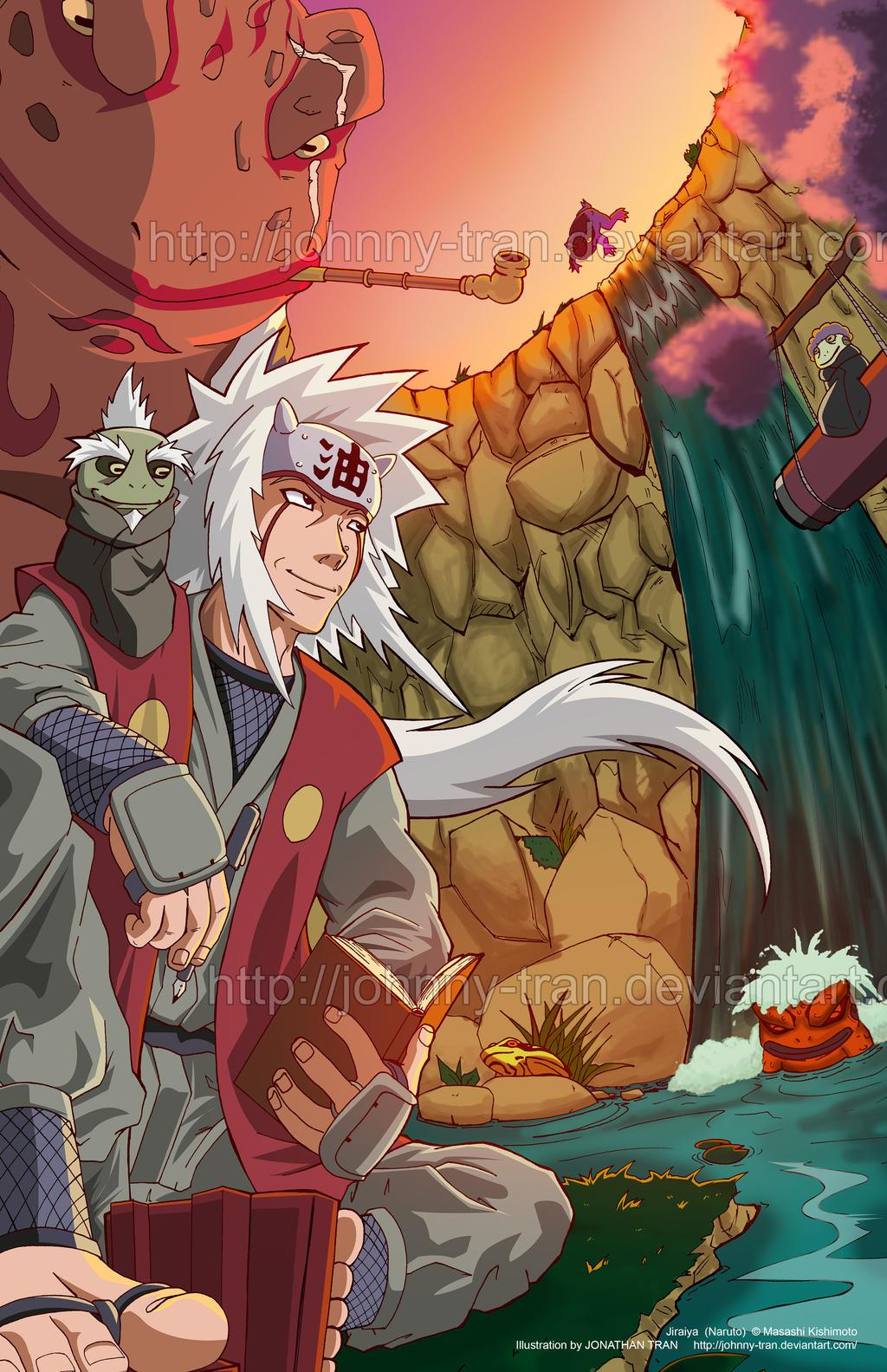 Naruto And Jiraiya Wallpaper