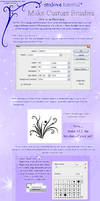 Make your own PS Brushes - Tut