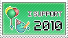 Supporting 2010 by mxlove
