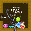 Magical potion wasted - TOPDP