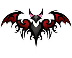 Bat Tattoo Color by RagDollMurderer