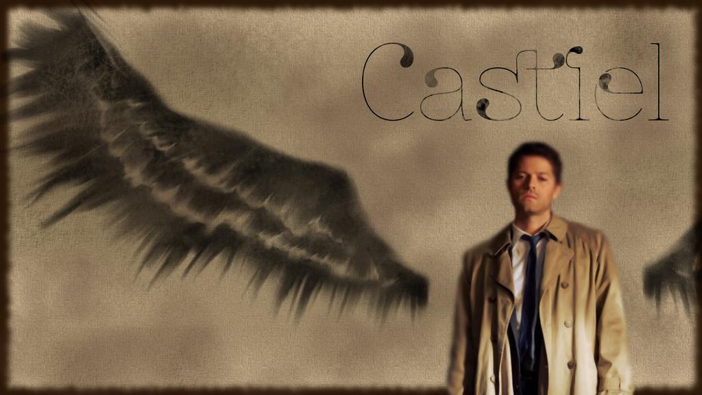 Supernatural Castiel Wallpaper By Miss Hyper 99