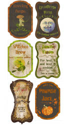 custom Potion labels
