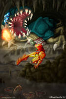 Metroid 2 by Corsyus