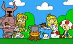 Smash Bros Painting by TropeifierComics