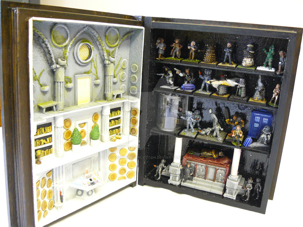 dr who miniatures collectioncommanderlytton on deviantart