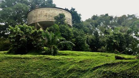 Abandoned tower  by sandbagunicorn27