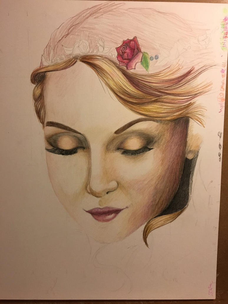 Unfinished Face by faustina2000