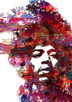 Purple Haze - Jimi Hendrix by pixelputa