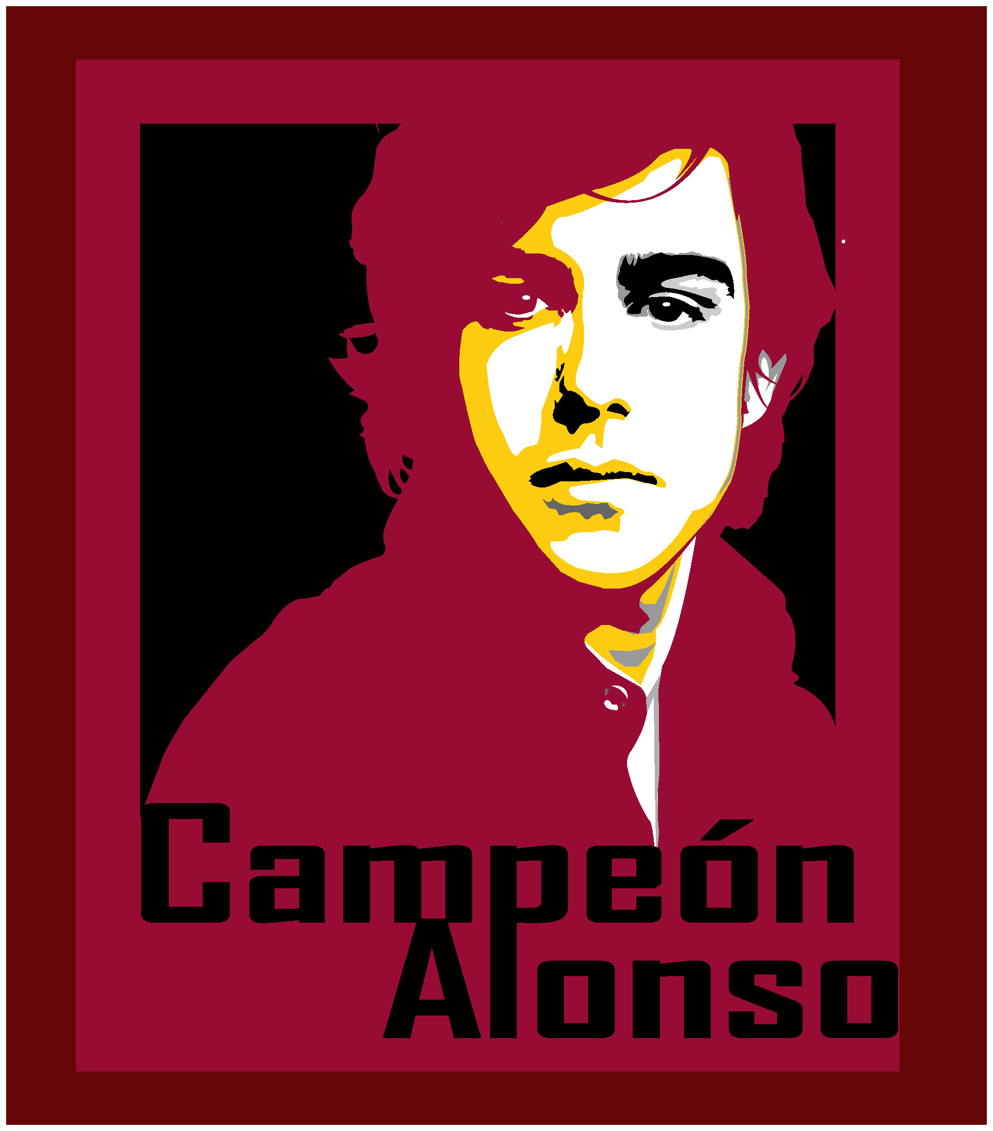 Fernando Alonso by pixelputa