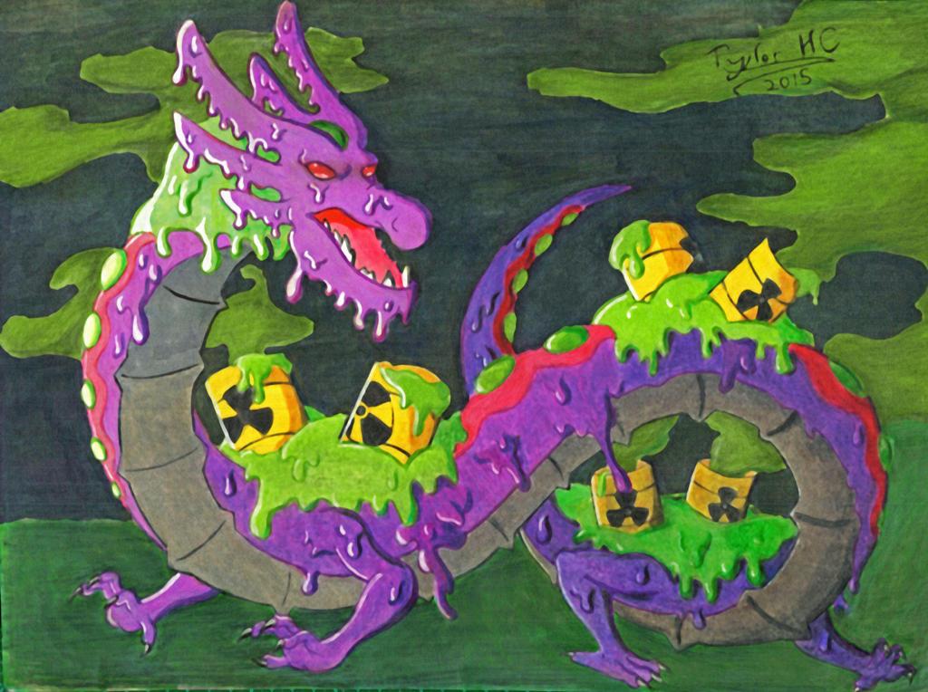 Toxic Dragon OC Dokuryu by FireWario