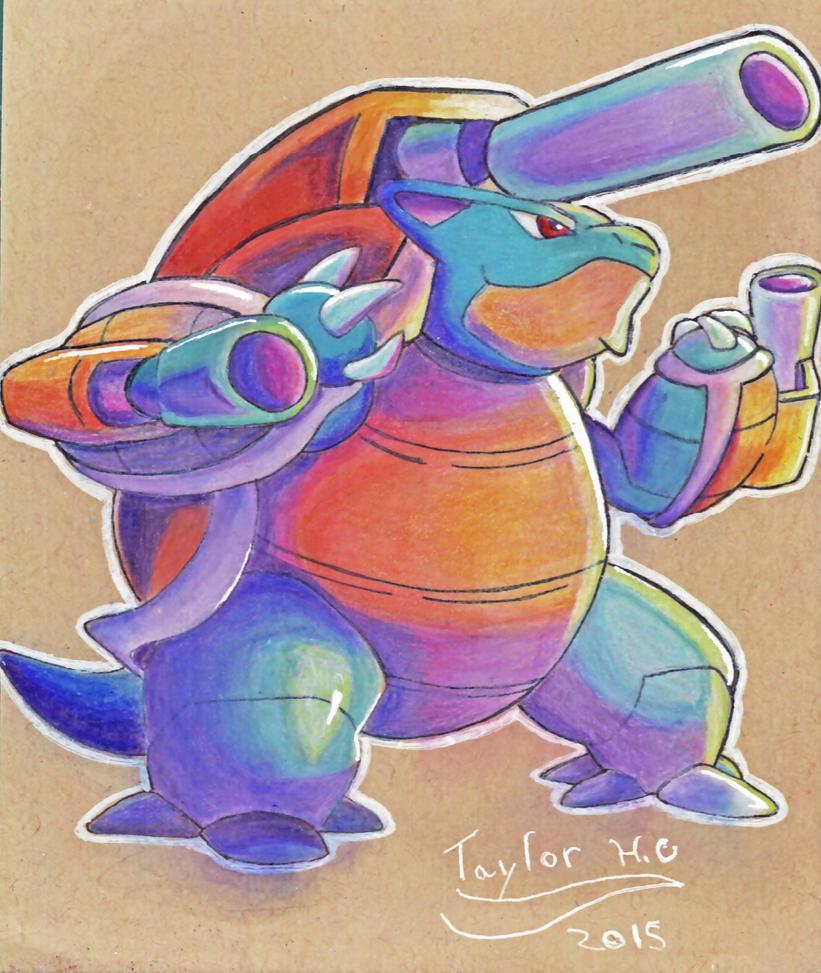 Mega Blastoise by FireWario