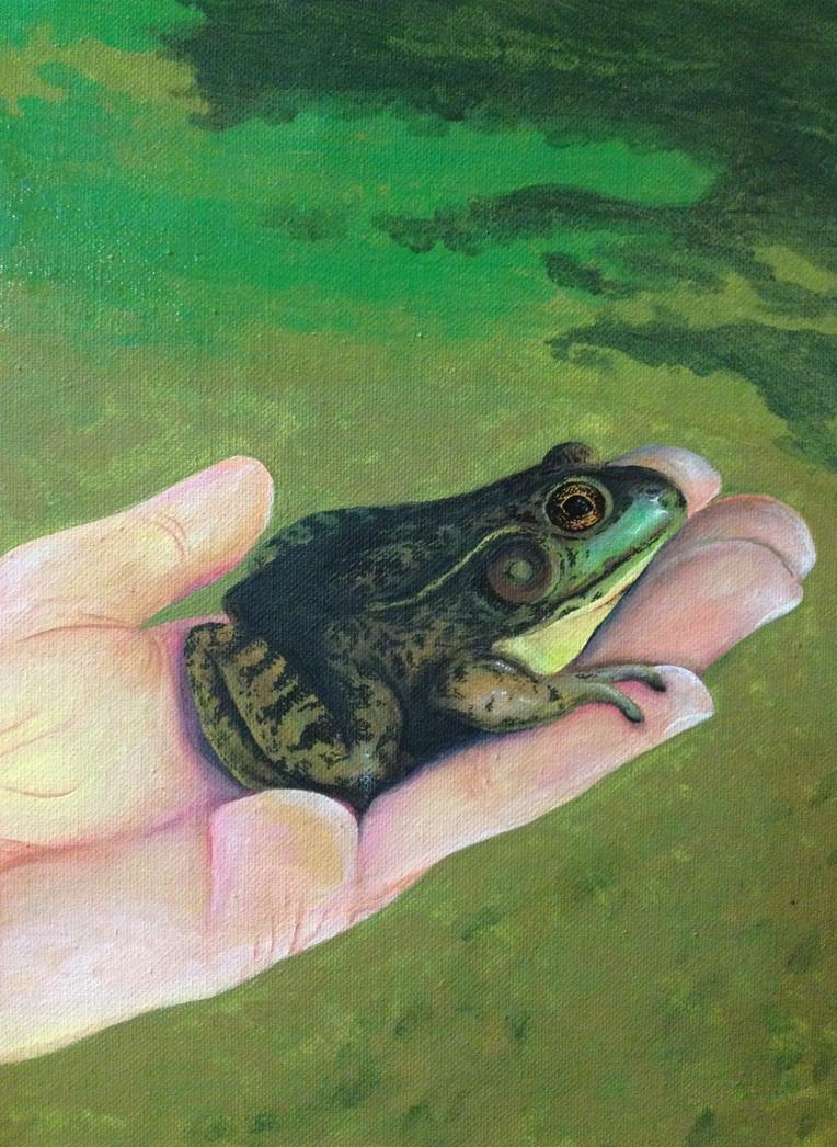 Bull Frog by OliviaNub