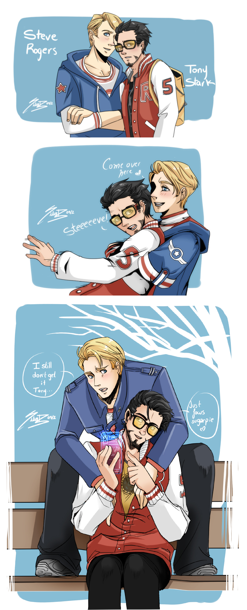 Avengers Fanfiction Tony Time Travels To The S