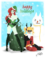 Harley and Ivy Holidays by SiliceB