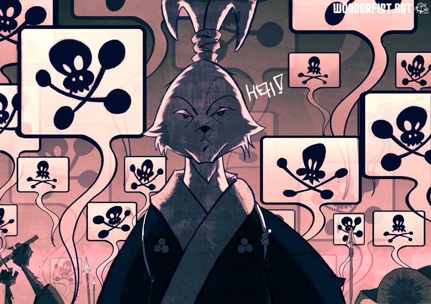 Usagi_Yojimbo by AndrewTunney