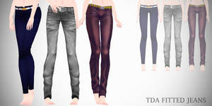 mmd - TDA Fitted jeans [Download]