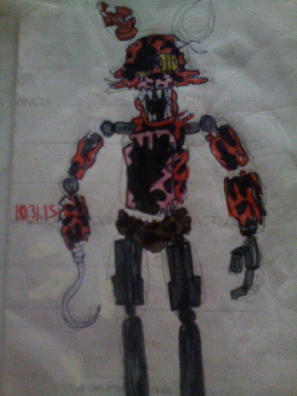Bad end foxy by freddlefrooby on deviantart