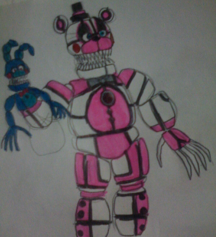 how to draw nightmare freddy