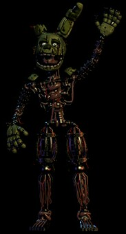 Filler - 3rd Anniversary Springtrap by FreddleFrooby