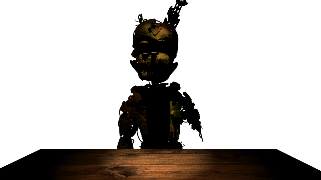 Pizzeria Simulator Scraptrap S Salvage Render By