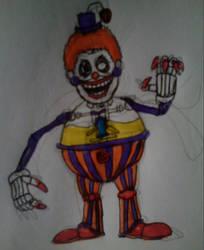 Lemonade Clown (FNwtG) by FreddleFrooby