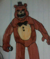 Horror Show Freddy by FreddleFrooby