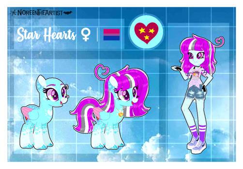 Star Hearts Ref Sheet 2021