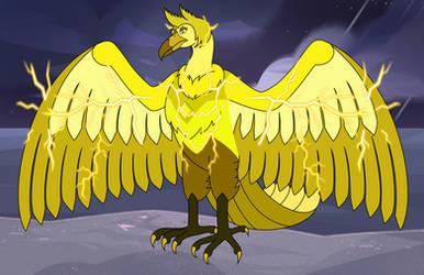 Yellow Diamond Thunderbird by LinKueiWolf57