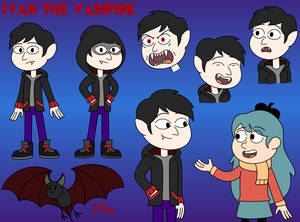Hilda OC - Ivan the Vampire