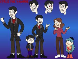 Hilda OC - Cyrus the Vampire