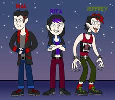 Hilda OC - Vampire Gang