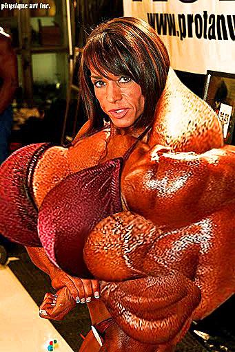 mae morph Brandi akers muscle