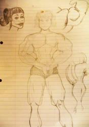 sketches 1 by zjefvanutsel